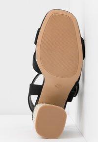Rubi Shoes by Cotton On - SANTAL STRAPPY - Sandalen met hoge hak - black - 6
