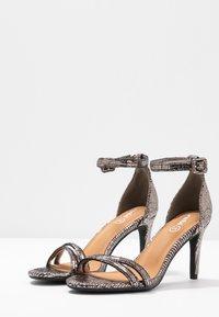 Rubi Shoes by Cotton On - SHARI DOUBLE STRAP STILLETO - High heeled sandals - metallic - 4