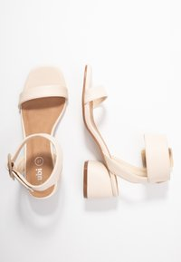 Rubi Shoes by Cotton On - BELLE BUCKLE - Sandály - oat - 3