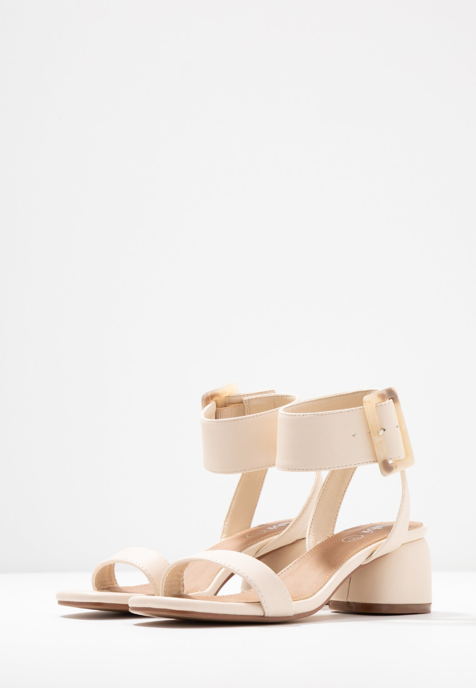 On BELLE oat Cotton Rubi by Shoes BUCKLESandales xeWordCB
