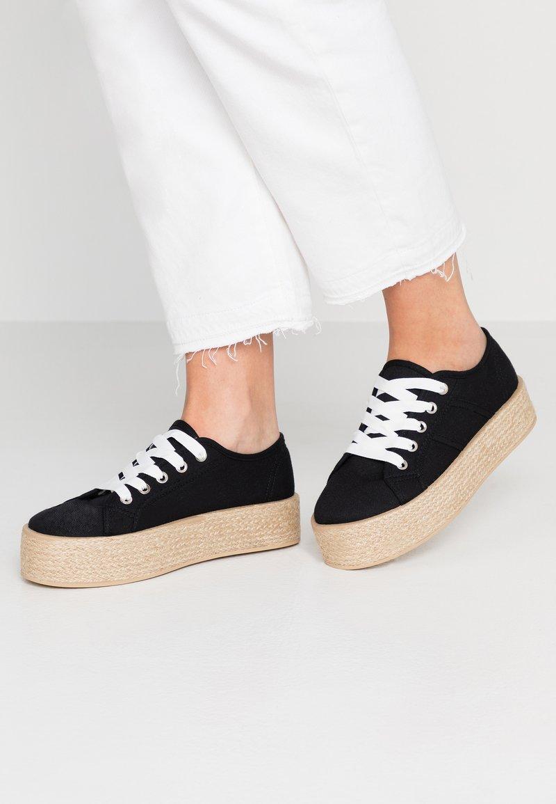 Rubi Shoes by Cotton On - WILLOW PLATFORM - Espadrilles - black