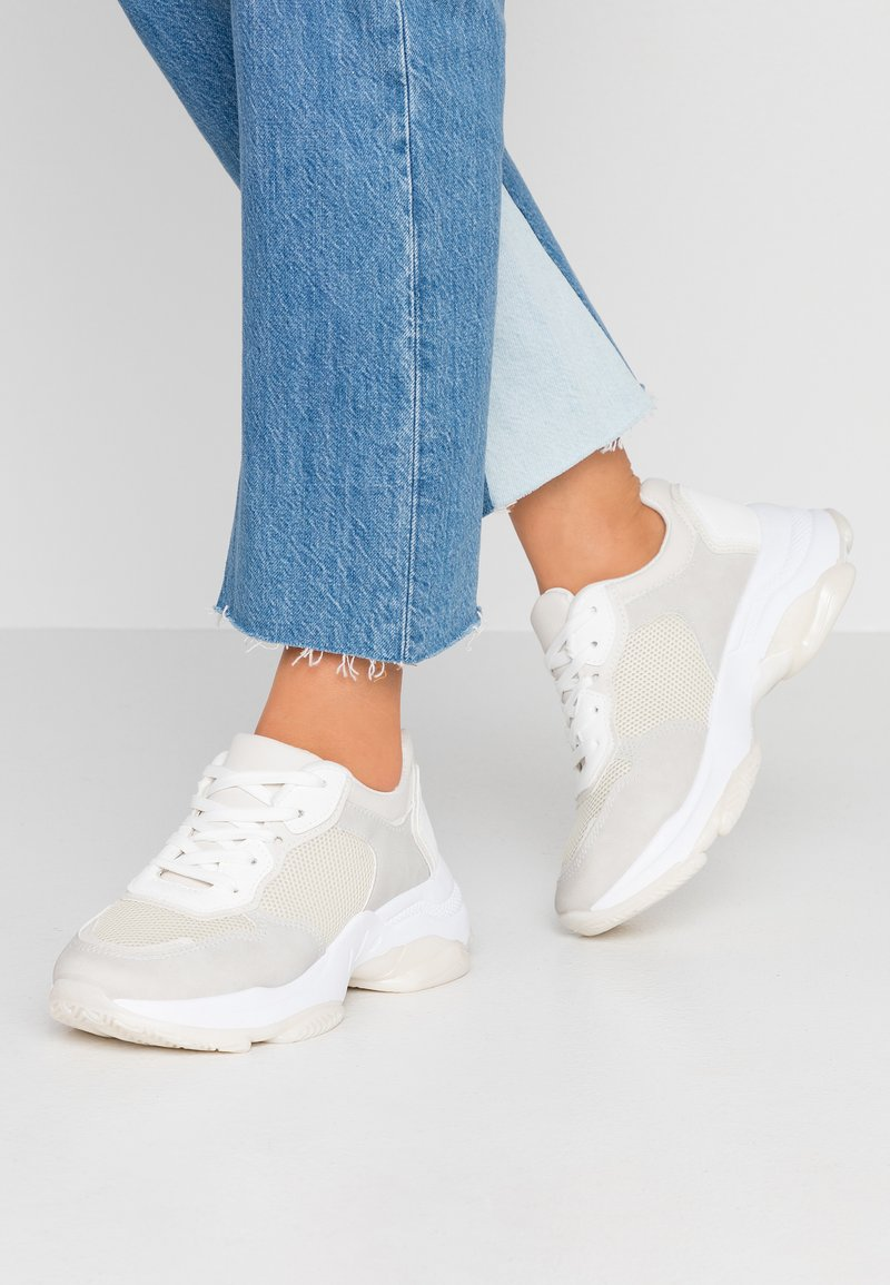 Rubi Shoes by Cotton On - MONICA SLEEK CHUNKY - Trainers - cream/white/multicolor