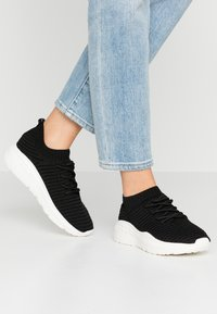 Rubi Shoes by Cotton On - FREYA SOCK TRAINER - Tenisky - black - 0