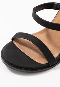 Rubi Shoes by Cotton On - BLOCK - Sandalias de tacón - black - 2