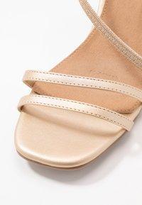 Rubi Shoes by Cotton On - LARA STRAPPY STILETTO - Riemensandalette - gold - 2