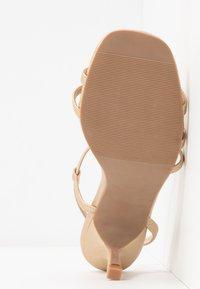 Rubi Shoes by Cotton On - LARA STRAPPY STILETTO - Riemensandalette - gold - 6
