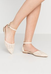 Rubi Shoes by Cotton On - ANKLE STRAP - Ankle strap ballet pumps - offwhite - 0
