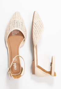 Rubi Shoes by Cotton On - ANKLE STRAP - Ankle strap ballet pumps - offwhite - 3