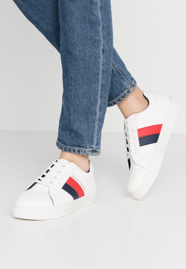 MICKEY LIANA RISE - Sneakers - red/navy/multicolor