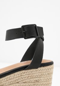 Rubi Shoes by Cotton On - CRYSTAL WEDGE - Espadrillas - black - 2