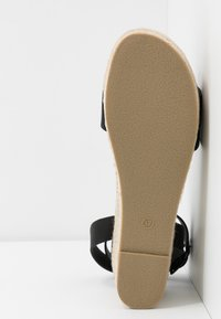 Rubi Shoes by Cotton On - CRYSTAL WEDGE - Espadrillas - black - 6