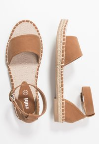 Rubi Shoes by Cotton On - ROSE OPEN TOE  - Loafers - tan - 3