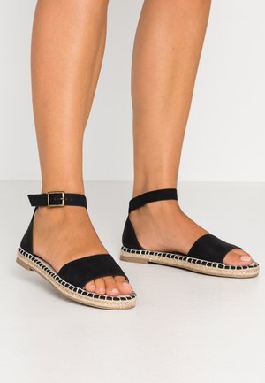 ROSE OPEN TOE  - Espadrilles - black
