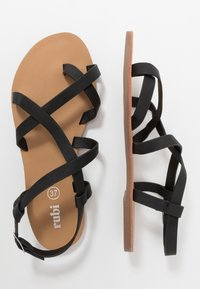 Rubi Shoes by Cotton On - TYRA MULTI STRAP  - Zehentrenner - black - 3