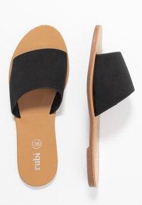 Rubi Shoes by Cotton On - CARRIE MINIMAL SLIDE - Sandaler - black - 3