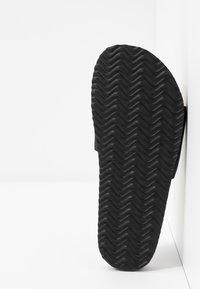 Rubi Shoes by Cotton On - REX SINGLE VAMP SLIDE - Mules - black - 6