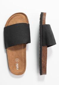 Rubi Shoes by Cotton On - REX SINGLE VAMP SLIDE - Mules - black - 3