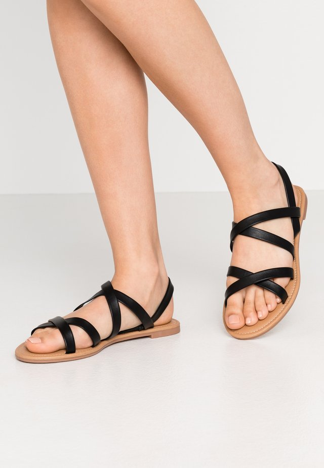 EVERYDAY STRAPPY SLINGBACK - Sandaler - black