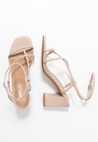 Rubi Shoes by Cotton On - HARPER STRAPPY HEEL - Sandaler - pale taupe - 3