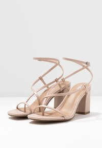 Rubi Shoes by Cotton On - HARPER STRAPPY HEEL - Sandaler - pale taupe - 4