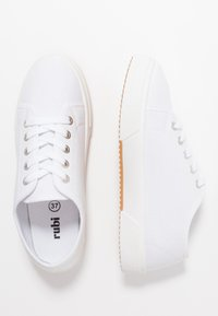 Rubi Shoes by Cotton On - LISA LACE UP - Joggesko - white - 3
