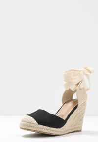 Rubi Shoes by Cotton On - JARDAN TIE UP  - Sandály na vysokém podpatku - black - 4
