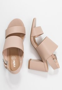 Rubi Shoes by Cotton On - SELENE  - High heeled sandals - pale taupe - 3