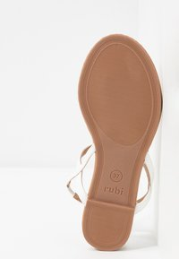 Rubi Shoes by Cotton On - EVERYDAY TOE POST  - T-bar sandals - white - 6