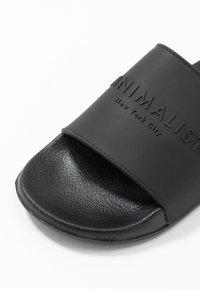 Rubi Shoes by Cotton On - WILD SLIDE - Pantofle - minimalist black - 2