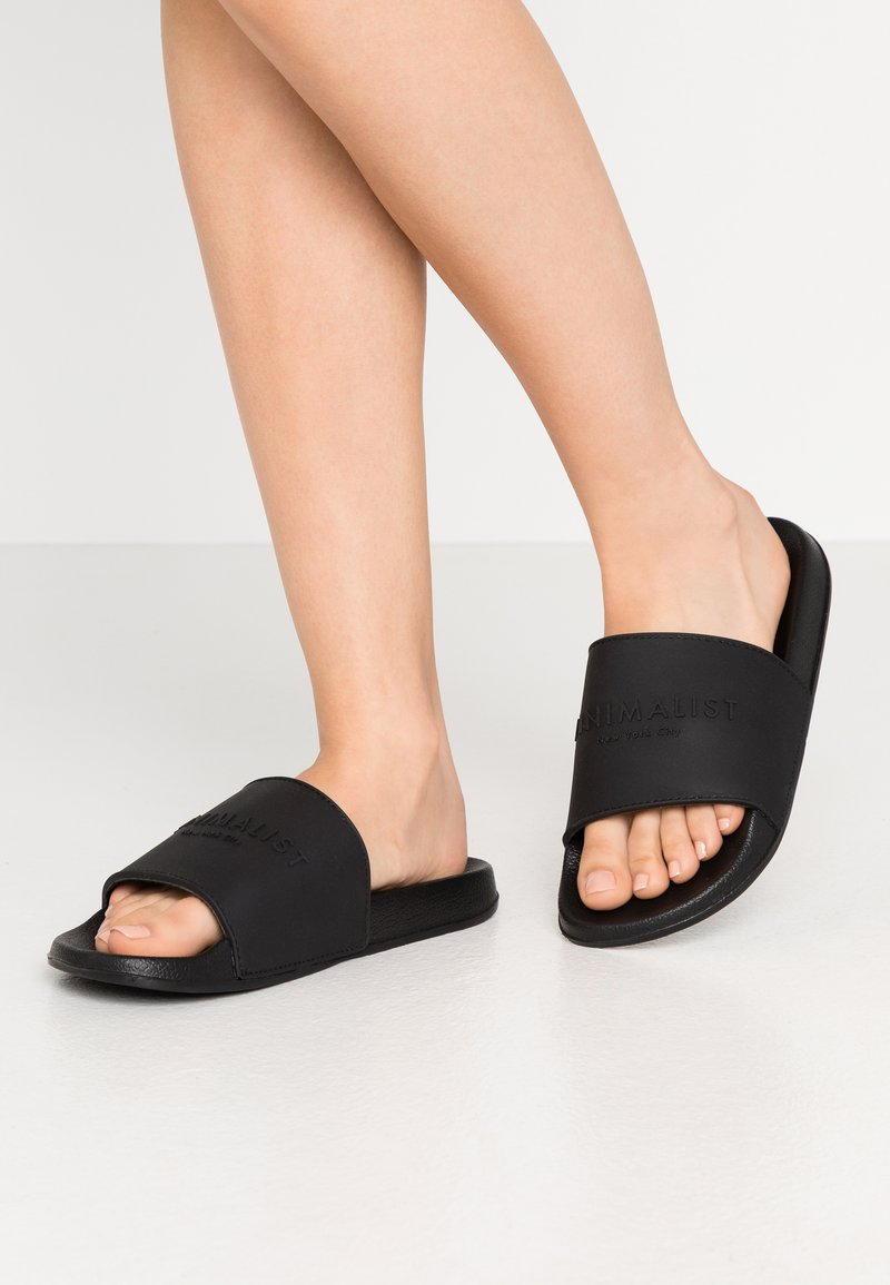 Rubi Shoes by Cotton On - WILD SLIDE - Pantofle - minimalist black