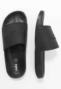 Rubi Shoes by Cotton On - WILD SLIDE - Pantofle - minimalist black - 3