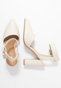 Rubi Shoes by Cotton On - BAKER BUCKLE - Hoge hakken - stone - 2