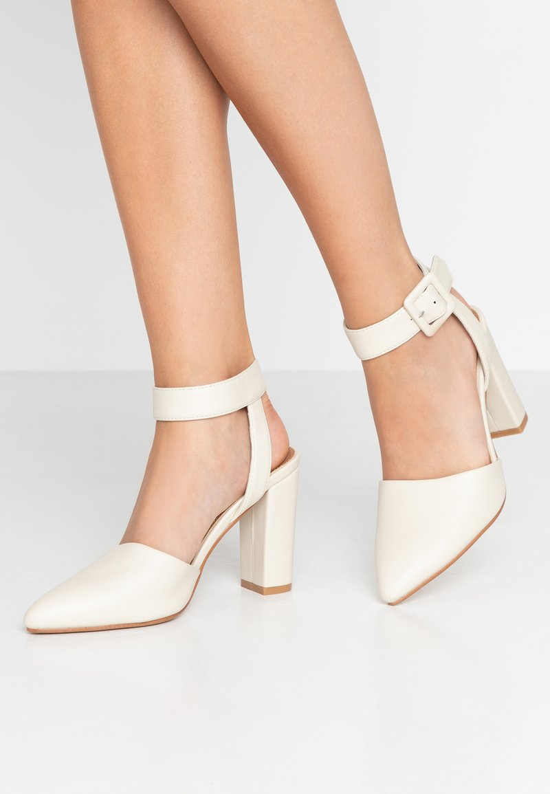 Rubi Shoes by Cotton On - BAKER BUCKLE - High heels - stone