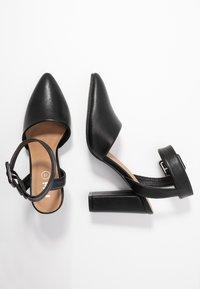 Rubi Shoes by Cotton On - BAKER BUCKLE - Hoge hakken - black - 3