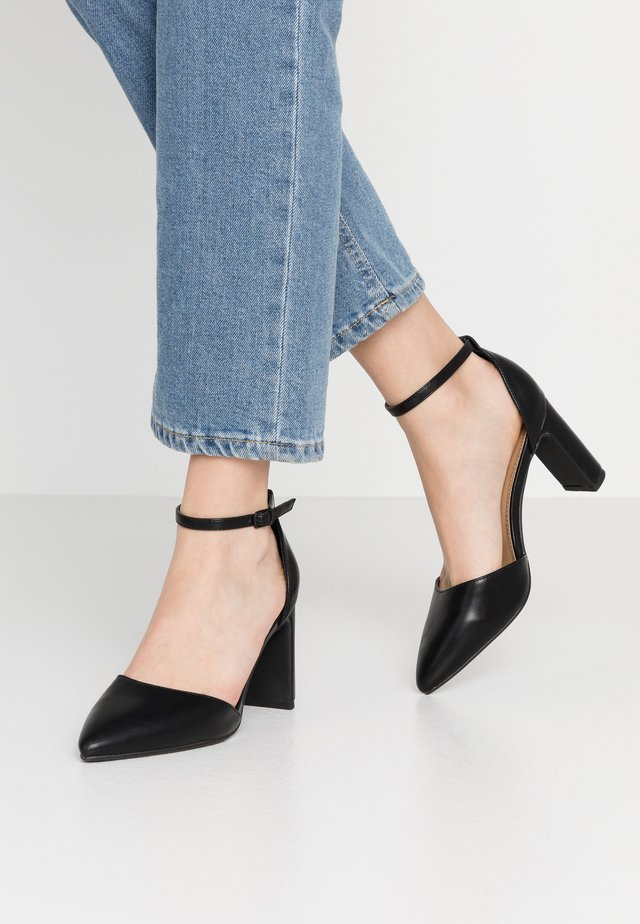 JEANNE CLOSED TOE HEEL - Czółenka - black