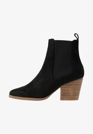 SOPHIA GUSSET BOOT - Kotníková obuv - black