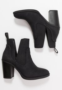 Rubi Shoes by Cotton On - NALA CUT OUT BOOT - Ankelboots - black - 3