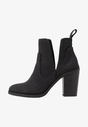 NALA CUT OUT BOOT - Ankelboots - black