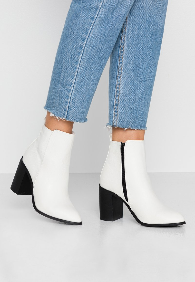 Rubi Shoes by Cotton On - RINNA  - Ankelboots med høye hæler - white