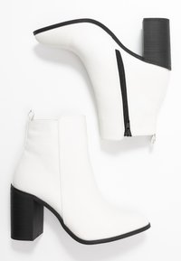 Rubi Shoes by Cotton On - RINNA  - Ankelboots med høye hæler - white - 3