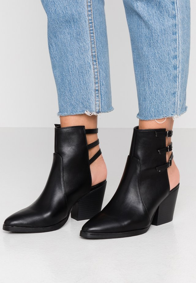 DJANGO - Classic ankle boots - black smooth