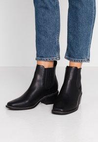 Rubi Shoes by Cotton On - ATWOOD - Kotníková obuv - black smooth - 0
