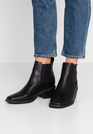 ATWOOD - Boots à talons - black smooth