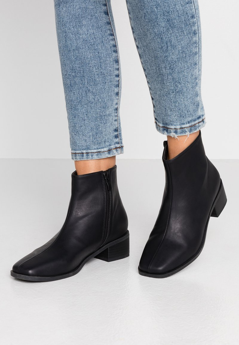 Rubi Shoes by Cotton On - DOWNTOWN - Botines - black smooth