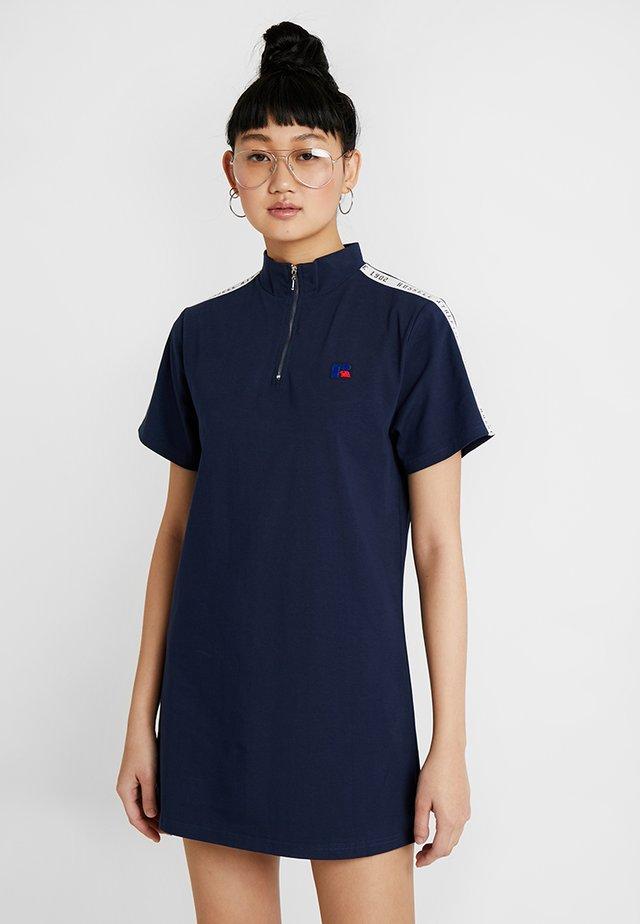 LENA - Jerseykleid - dark blue