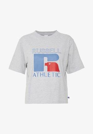 VIRGINIA - Print T-shirt - new grey marl