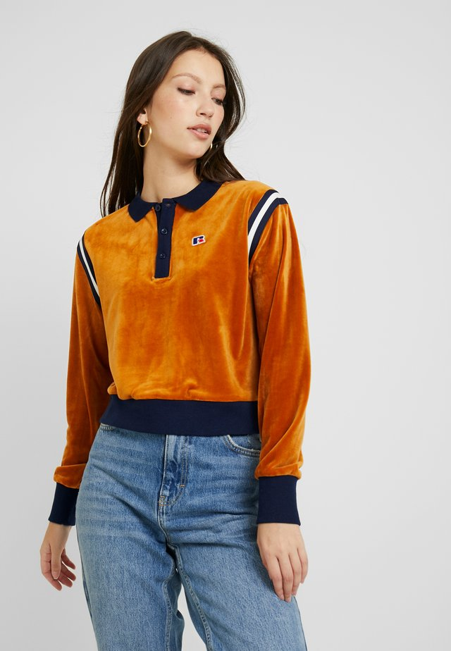 CAROLINE CROP INSERTED  - Sweatshirt - amberlight