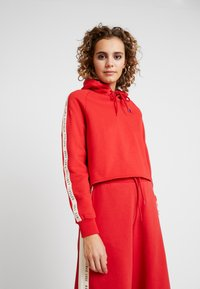 Russell Athletic Eagle R - CLAIRE ROP HOODY - Mikina skapucí - red - 0