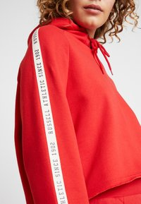 Russell Athletic Eagle R - CLAIRE ROP HOODY - Mikina skapucí - red - 5