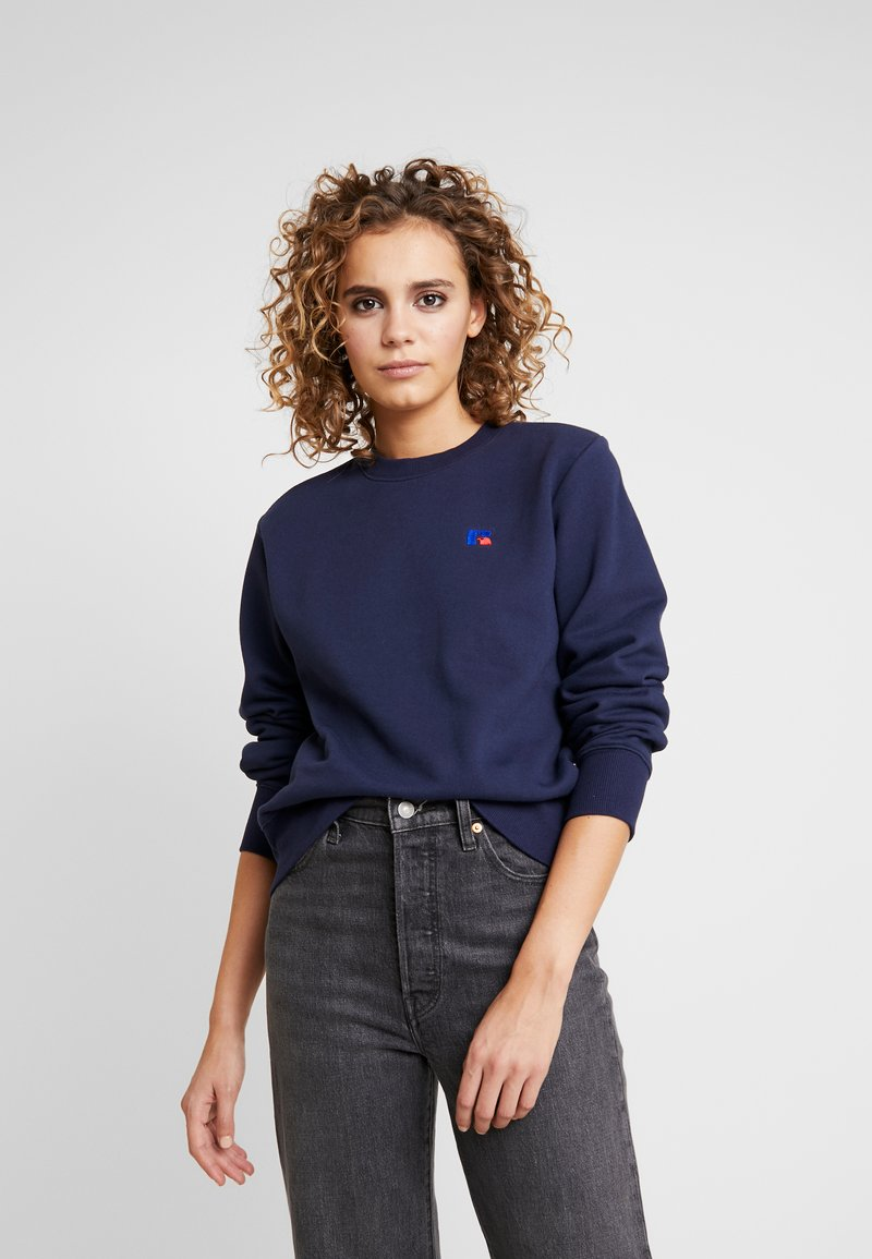 Russell Athletic Eagle R - CREW NECK - Bluza - navy